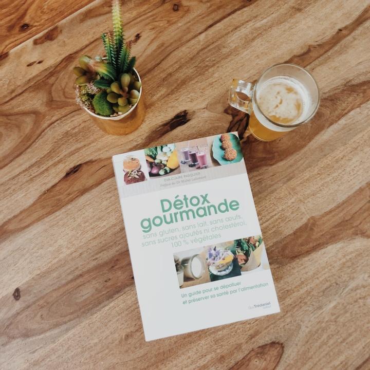 Mon conseil lecture du mois : Détox Gourmande de Eva-ClairePasquier